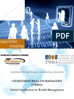 Chartered Wealth Manager - Brochure