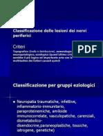 Classificazione Delle Lesioni Dei Nervi Periferici