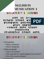 English in Communication i