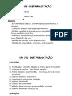 AULA 1 - instrumentação