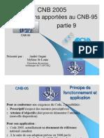 Modifications Cnb95