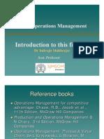 OperationsManagement part1