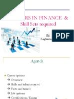 Careers in Finance & Skillsets