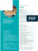 Folleto Filologia Inglesa