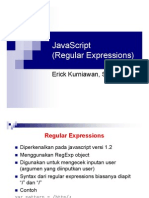 JavaScript(Regular Expression)