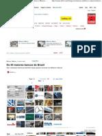 Os 50 maiores bancos do Brasil - Notícias de Melhores e Maiores - EXAME