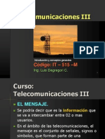 Curso Telecom III 2012-Señal, Ruido