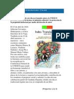 CAZA DEL TESORO  Día mundial del libro y del derecho de autor