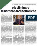 Le nostre proposte sul sociale-Gazzetta di Parma-12/04/12