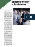 Le proposte di Vincenzo per il quartiere Lubiana-Gazzetta Di Parma-02/04/12