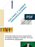 Expo de Cultura y Cambio Organizacional