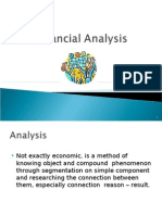 Financial Analysis Introduction