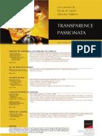 Transparencia Passion