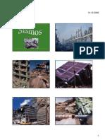 sismos revisões