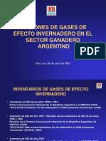 Emisiones de GEI en El Sector Ganadero L Finster