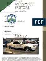 MODELOS DE AUTOMÓVILES Y SUS CARACTERÍSTCIAS