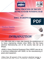 Final Ppt for Bhel