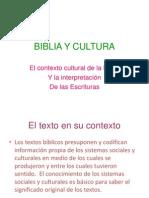 Biblia y Cultura1