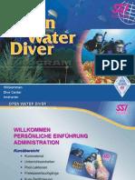 Open Water Diver Pegs German 2010