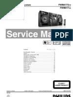 Equipo de Audio Philips FWM417