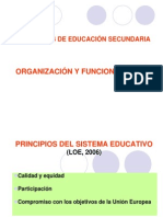 Principios Sistema Educativo (LOE 2006)