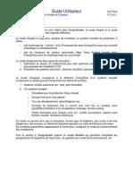 Guide Utilisateur DesingBuilder - CVC Simple Et Compact