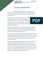 COT Report Analysis - Bye Bye Bulls