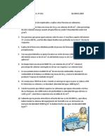 Examen de Hidrostática con soluciones