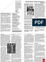 Quidhampton Newsletter Sept 2010