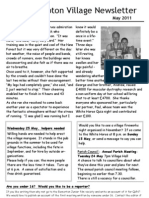 Quidhampton Newsletter May 2011