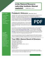 Fall 2009 NRLI Alumni Newsletterv2