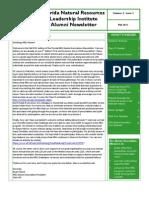 Fall 2011 NRLI Alumni Association eNewsletter