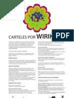 CARTELES POR WIRIKUTA