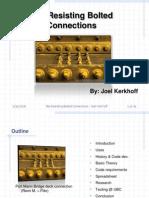 Slip Critical Presentation - Joel Kerkhoff