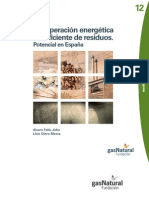 12. Recuperación energética ecoeficiente de residuos