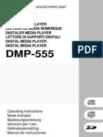 Pioneer DMP 555 Manual
