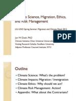 Climate and Migration talk DASH, UU-UNO Spring Seminar 2012