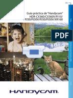 Hdrcx360v Pj10 Pj30v Pj50v Xr160 Handbook Es