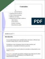 Archivos C++