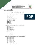 Lista Exercícios 1