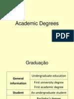 3c. Academic Degrees