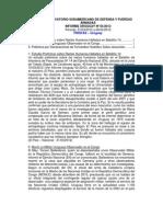 Informe Uruguay 05-2012