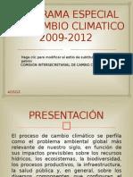Programa Especial Del Cambio Climatico 2009-2012