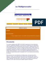 Arquitecturas Multiprocesador