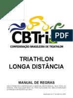 REgras triatlon Cbtri