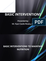 Basic Interventions