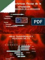 CARACTERISTICAS FISICAS DE LA CIRCULACIÓN