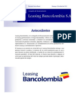 Leasing Bancolombia Legislacion Financiera Fernanda Garcia Bernal