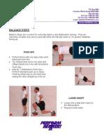 Treinamento Funcional - Balance Steps
