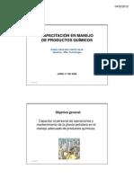(Lectura-9-DIANA CHAVES Presentación Manipulacion de sustancias quimicas-diamante de riesgo [Modo de compatibilidad])
